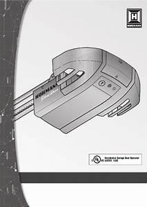 Hormann Silentdrive 5500 Garage Door Opener Installation