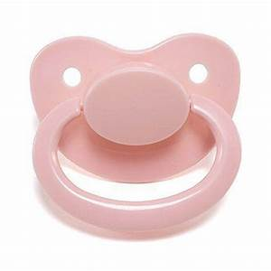 Adult Sized Pacifier Dummy for Adult Baby - Pink - abdl ...