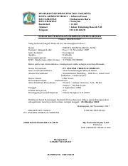Surat Keterangan Layak Kerja by P 16 Surat Izin Layak Operasi Rev 01 Doc Pemerintah