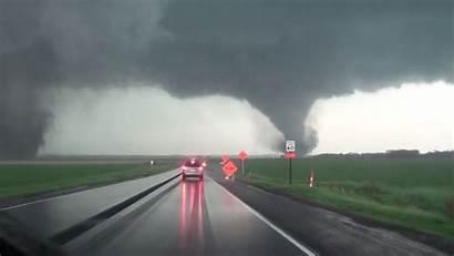 Tornadoes Twin Nebraska Apart Rip Footage Kgo