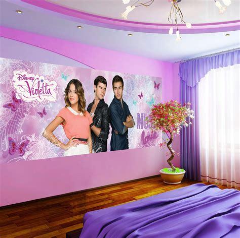 chambre violetta violetta poster papier peint 250 x 104 cm