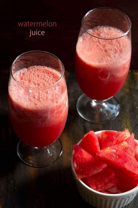 watermelon juice recipes recipe fresh indian drink summers diabetes cooling heat ramadan drinks vegrecipesofindia beverages india juices easy iftar reducer