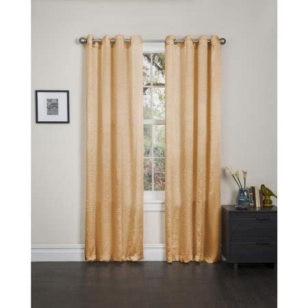 90 inch curtain panels madeline crushed satin 90 inch curtain panel pair gold
