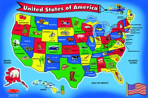 and doug floor puzzles canada united states map puzzle my