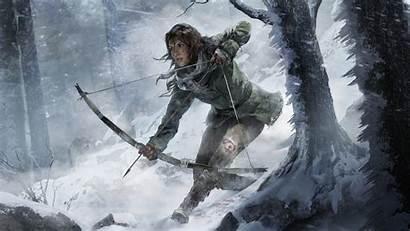 Tomb Raider Rise Croft Lara Games Wallpapers
