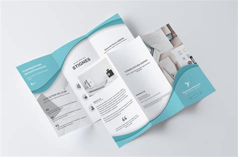 business brochure professional trifold brochure design service by creativeshop7 on envato studio