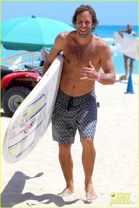 johnson jack shirtless body surf session shows jared