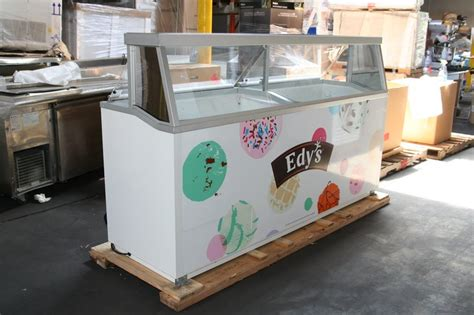 used ice cream dipping cabinet hussmann ice cream dipping cabinets new and used