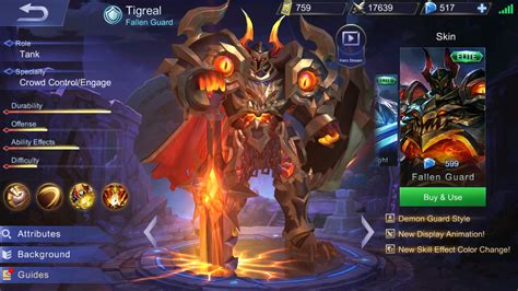 Tigreal Item, Skill Build And Best Tank