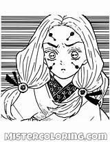 Slayer Demon Coloring Anime Spider Sister Rui Older Manga Drawing Boy Sisters Printable Demons Sketch Mistercoloring sketch template