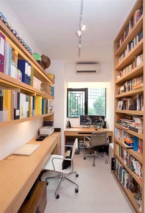 desain ruang kantor rumah sempit gambar desain rumah