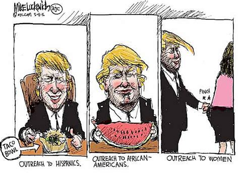 Best Trump Political Cartoons