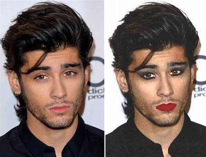 Makeup Direction Wearing Without Zayn Looks Getty