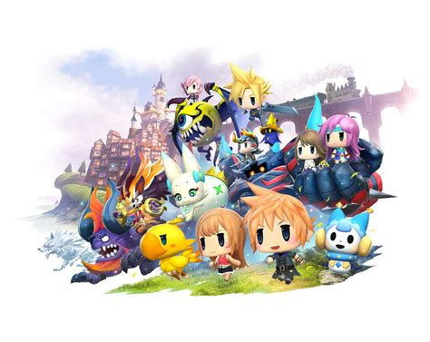 Permalink to World Of Final Fantasy Wallpaper Hd
