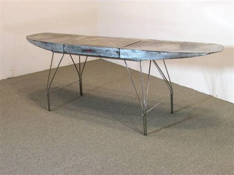 airplane wing desk airplane wing desk by jonathan singleton for at 1stdibs