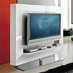 Möbel Weiß Hochglanz Lackieren : panorama drehbarer tv rack struktur aus wei hochglanz lackiertem holz living room ~ Michelbontemps.com Haus und Dekorationen