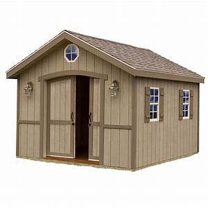 Shop Best Barns (Common: 10-ft x 12-ft; Interior