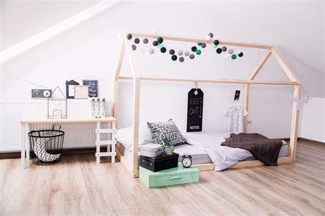 bed house frame scandi design  kids  base