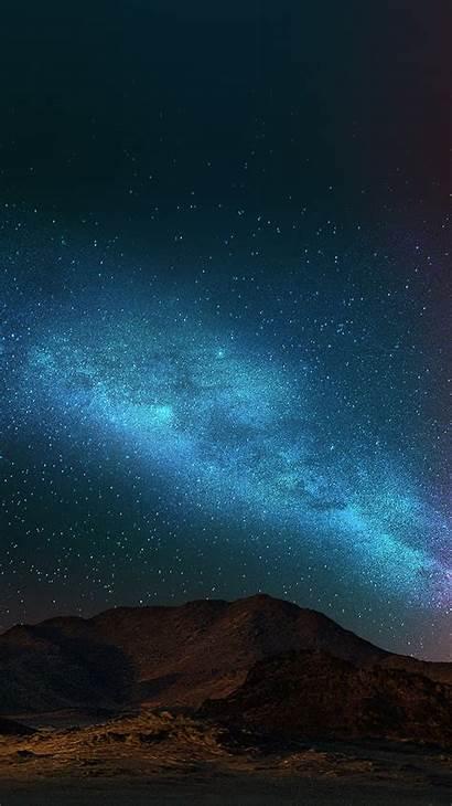 Iphone Sky Night Dark Nature Shining Star