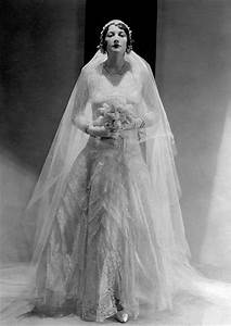 1930s Chanel, lace wedding gown - Worn by bride Betty ...