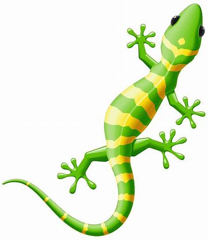 Lizard Clipart Spotted Yellow Iguana Reptile Clip