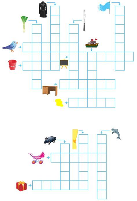 bureau drapeau anglais mots fléchés faciles pour enfants apprendre à lire