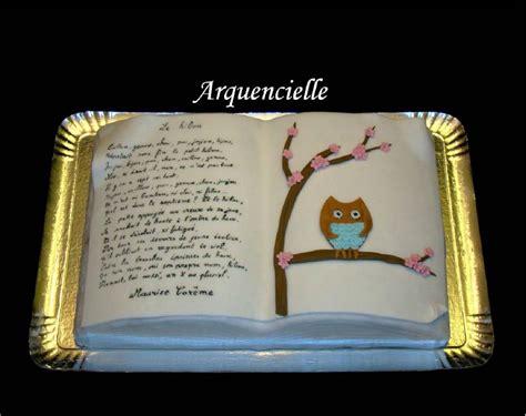 ecole de cuisine de gâteau hibou livre poème maurice carême photo de cuisine