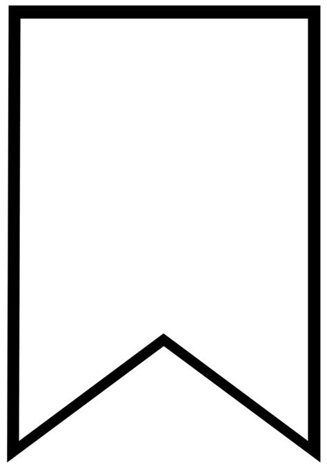 printable banner templates blank banners