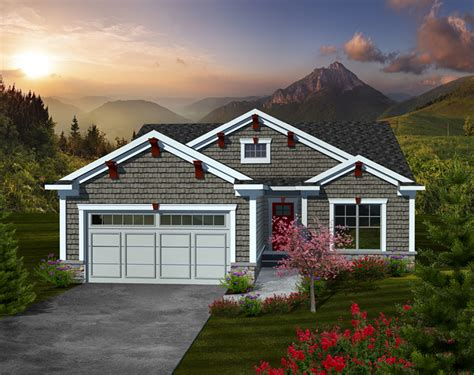 Wilson Farm Craftsman Home Plan 051d-0736