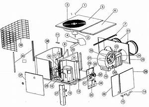 Air Conditioner Diagram  U0026 Parts List For Model 036p3ra
