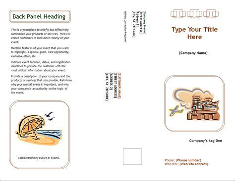 Brochure Templates Exles by Marketing Brochure Template Word Marketing Brochure Template