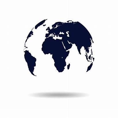 Globe Earth Transparent Map Mundo Airplane Silhouette