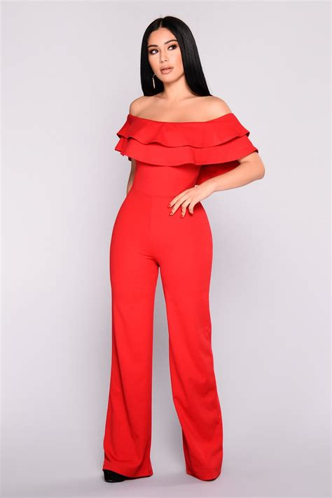 ready jumpsuit ready to ruffle jumpsuit