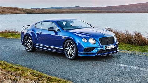 bentley sports bentley continental supersports 2017 review by car magazine