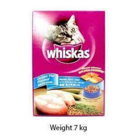Whiskas 7 Kg whiskas cat food fish 7kg cat buy at petshop18