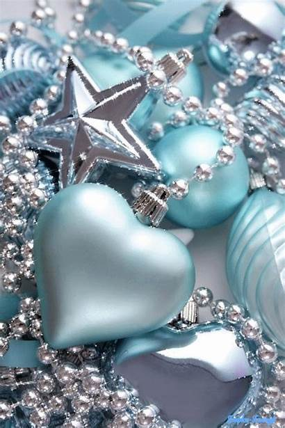 Christmas Ornaments Silver Ornament Decorations Pastel Decoration
