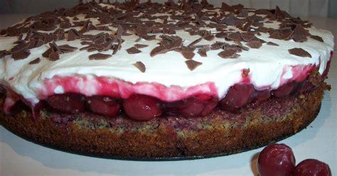 einfache kirsch sahne torte rezept daskochrezept de