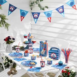 Deko Geburtstag 1 : kindergeburtstag oder 1 geburtstag auf hoher see baby belly party blog ~ Markanthonyermac.com Haus und Dekorationen