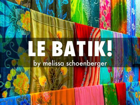 le batik  dubblebubble
