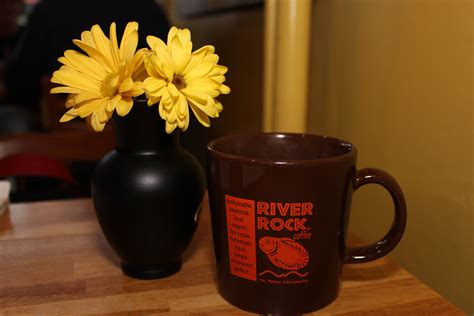 Small town coffee shop brewing and baking with intention. Good morning! (With images) | River rock, Coffee