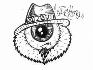 How to draw a one eye gangsta character Como dibujar un cholo con ojo graffiti YouTube
