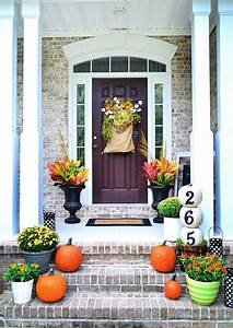Fall, Outdoor, Decorating, Ideas