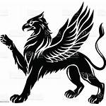 Griffin Vector Animal Icon Clip Tattoo Drawing