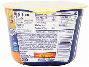 Kraft Easy Mac Triple Cheese Nutrition Facts – Nutrition ...