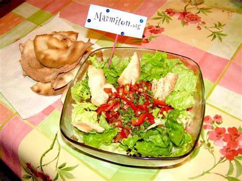 recette cuisine libanaise fattouche salade libanaise recette de fattouche