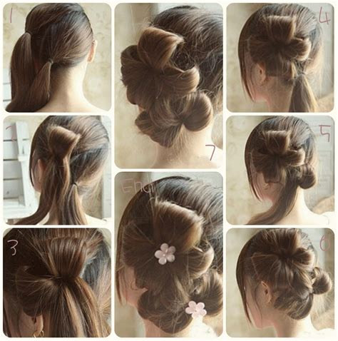 HD wallpapers simple and easy hairstyles for a party