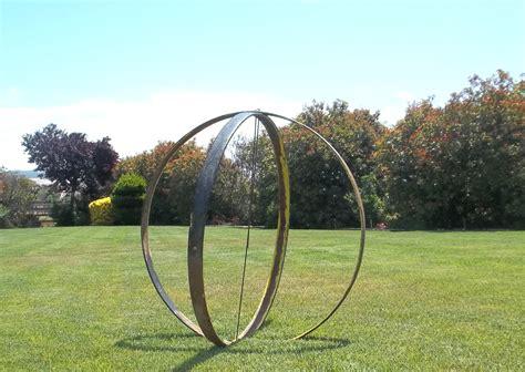 metal sculptures  sale large metal sphere orb garden