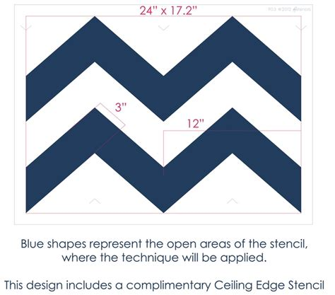 Chevron Template For Walls 17 Best Images About Stencil On Chevron
