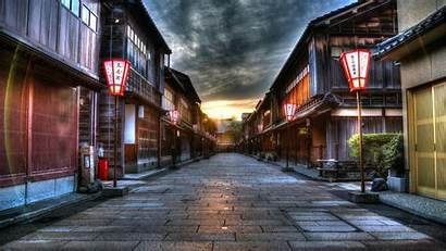 Street Japanese Wallpapers Background 1080p Japan Anime