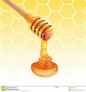 Honey Stick Stock Vector - Image: 56693684